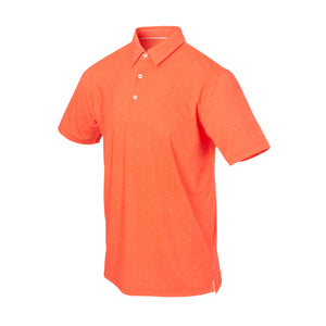 THE SYWALKER POLO - Vibrant Orange/White IS76803