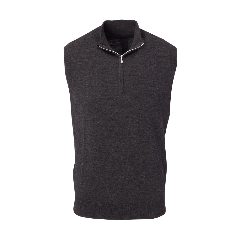 THE CHITOWN MERINO HALF ZIP VEST- IS85708HZVE
