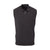 THE CHITOWN MERINO HALF ZIP VEST- Black Heather IS85708HZVE