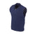 THE CHITOWN MERINO HALF ZIP VEST- Navy Heather IS85708HZVE