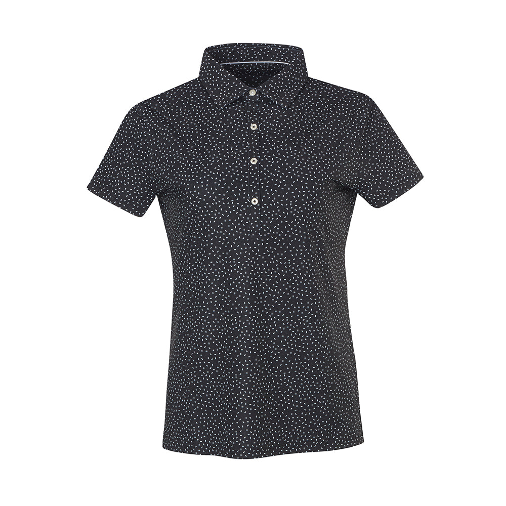 THE WOMEN'S PARTY POLO - Black IS86804W