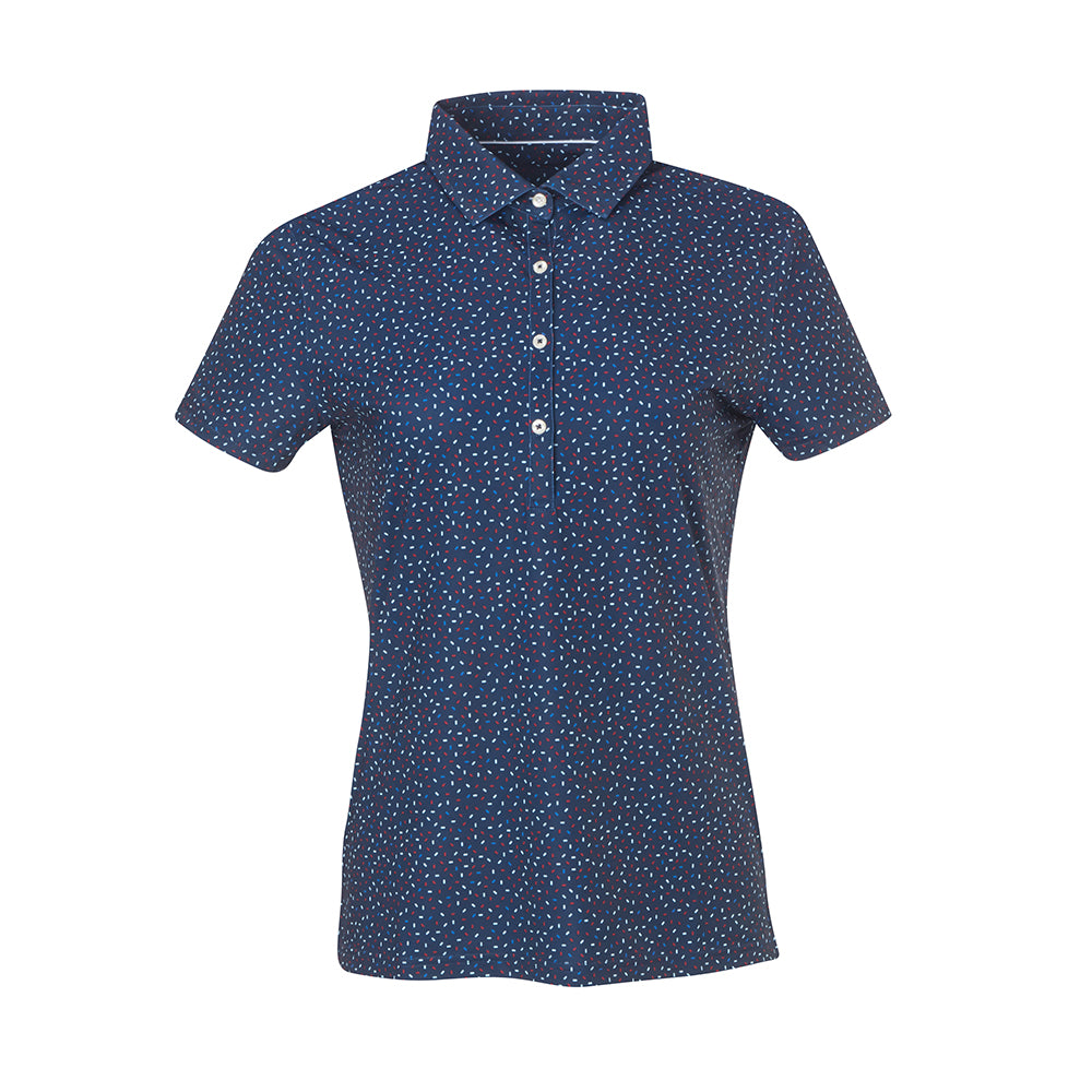 THE WOMEN'S PARTY POLO - Navy IS86804W