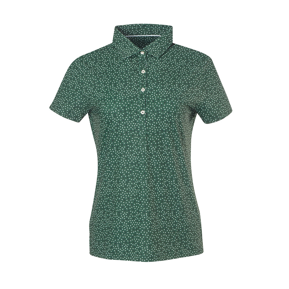 THE WOMEN'S PARTY POLO - Pine IS86804W