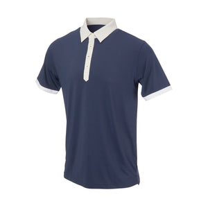 THE STADIUM COLORBLOCK POLO - Navy/Cloud IS86806