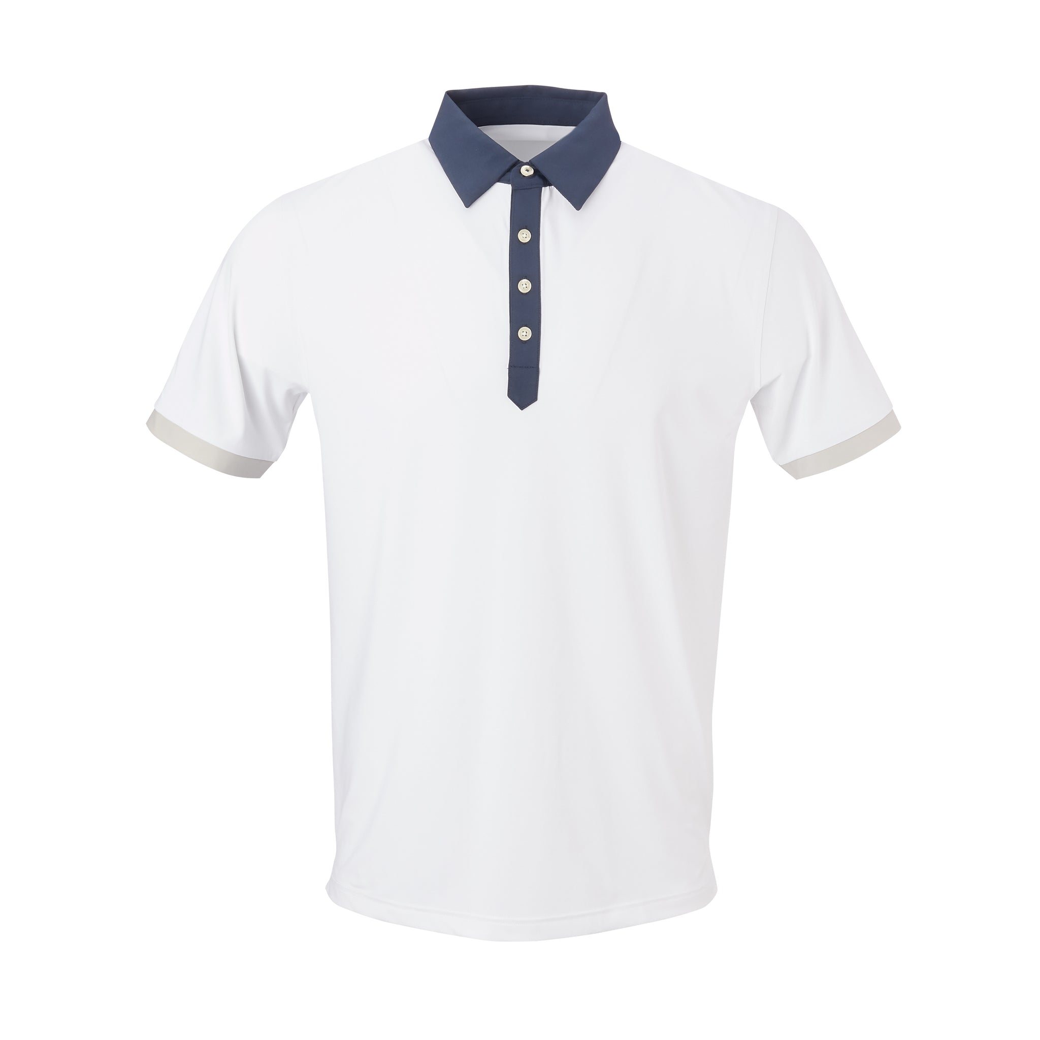 THE STADIUM COLORBLOCK POLO - White/Navy IS86806