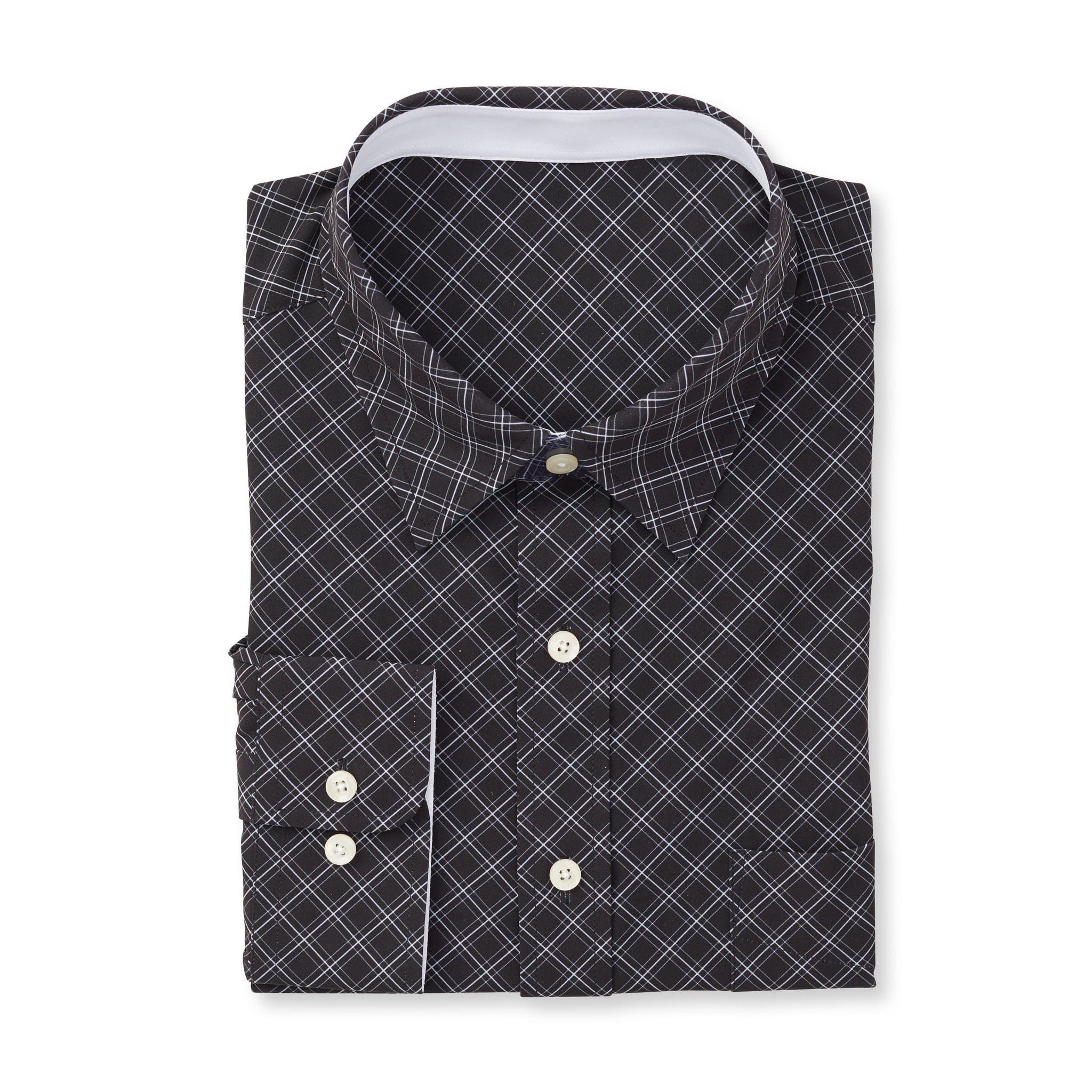 THE  BOSS JASON DIAGONAL SPORT SHIRT - IS92310 Black