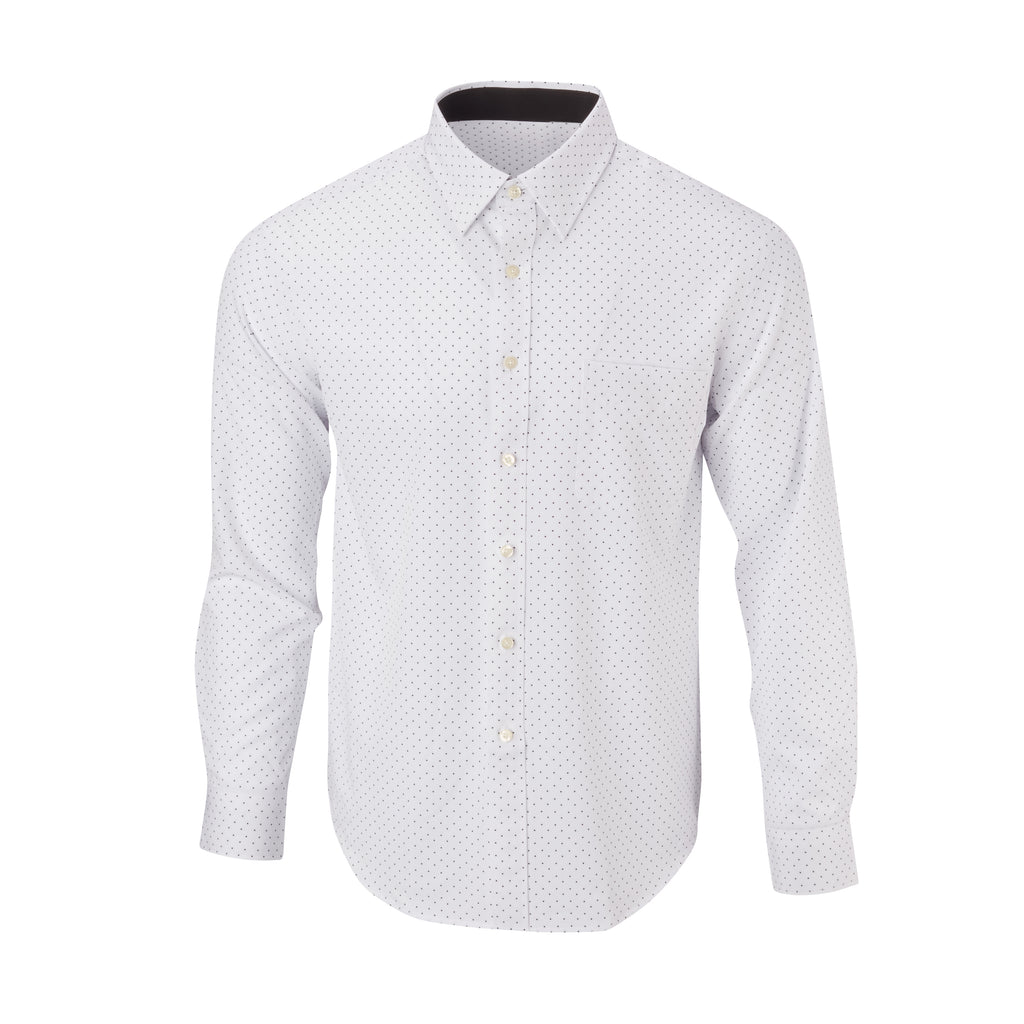 THE BOSS LECKER DOT SPORT SHIRT - IS92311 White/Black