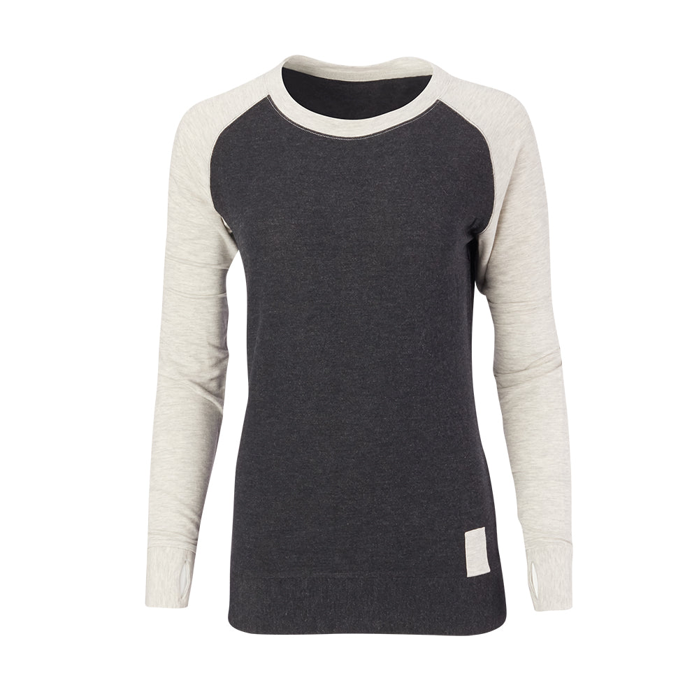THE BEACHWOOD WOMEN'S CASHTEC RAGLAN SWEATSHIRT - IS95621W