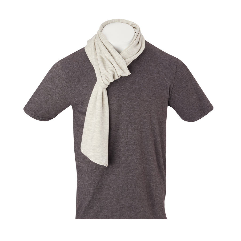 THE BEACHWOOD CASHTEC SCARF - Cloud IS95622SCRF
