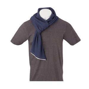 THE BEACHWOOD CASHTEC SCARF - Navy IS95622SCRF