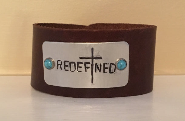 Redefined Courage Cuff