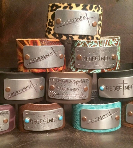Redefined Courage Cuffs