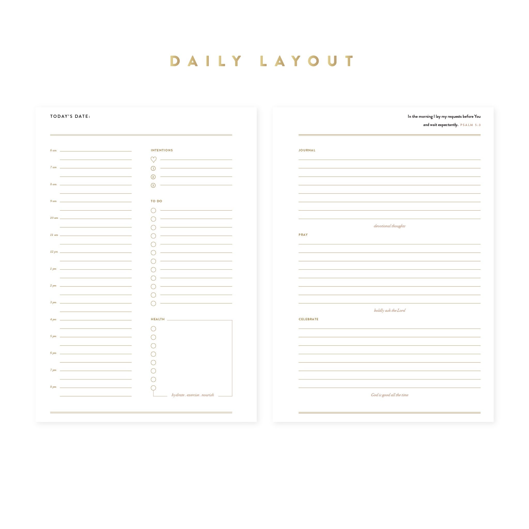 Intentional Planner®, 100 Days Insert Pack