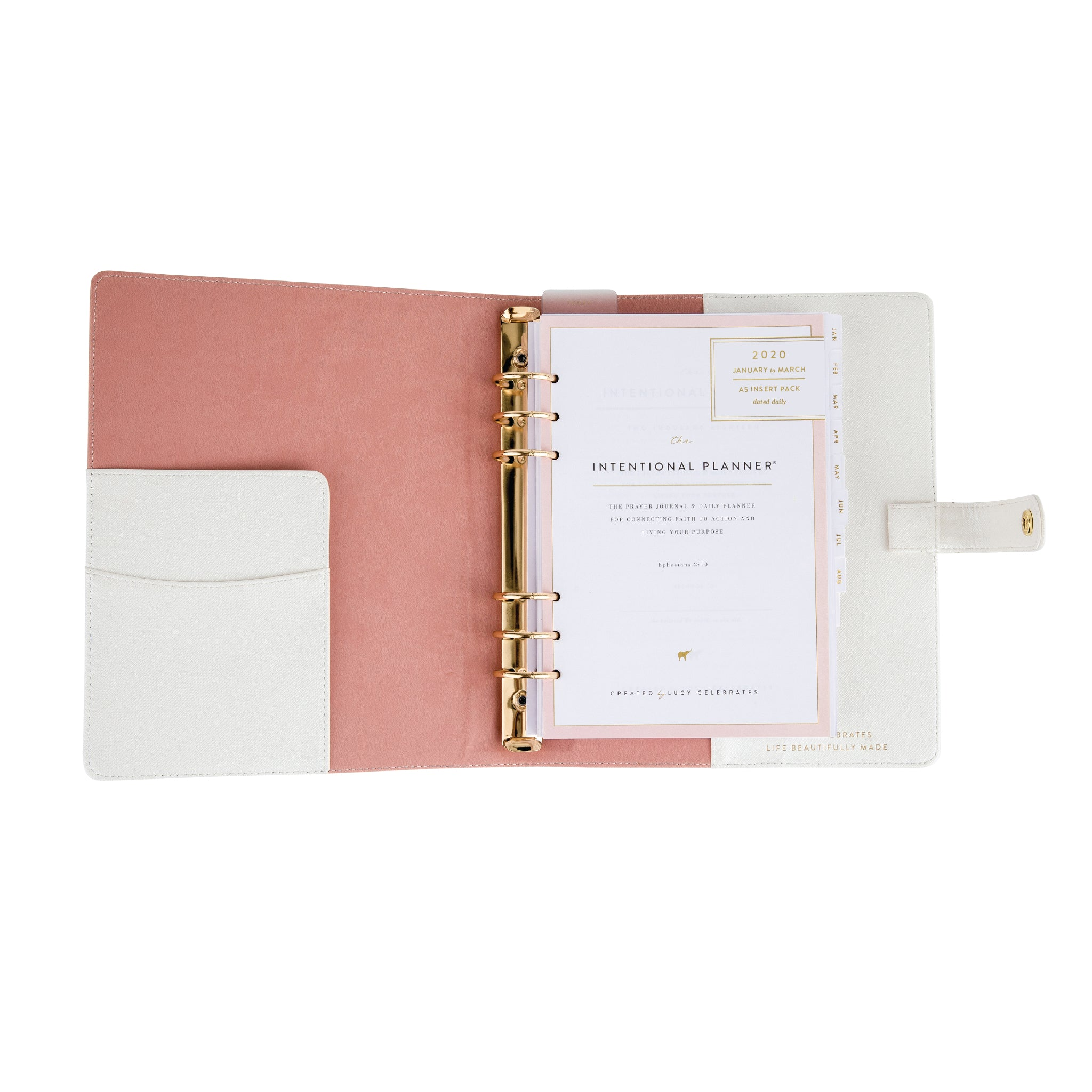 2020 Intentional Planner® White Bundle, Dated Daily