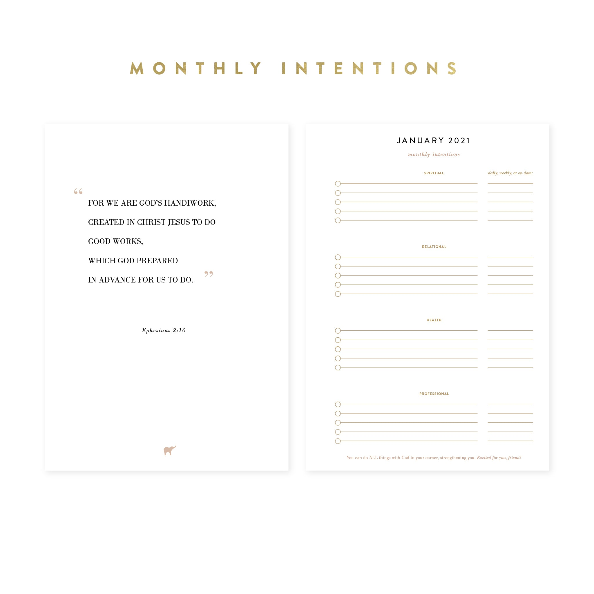 2021 DIGITAL Intentional Planner® Pack