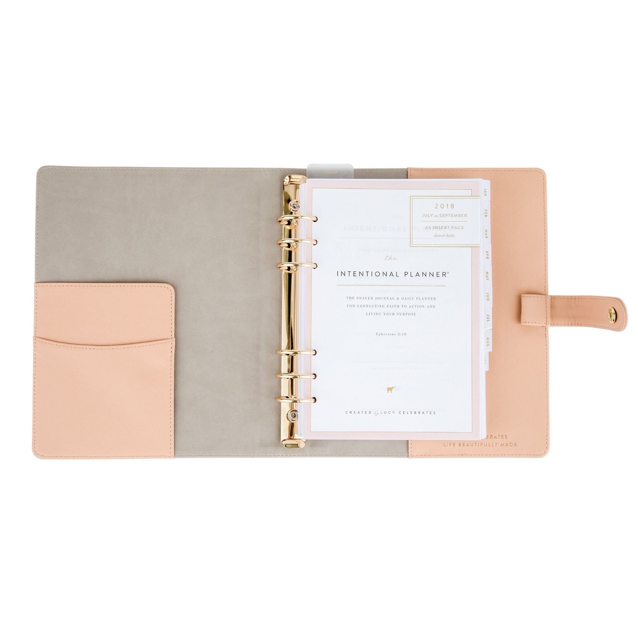 2020 Intentional Planner® Blush Bundle, Dated Daily