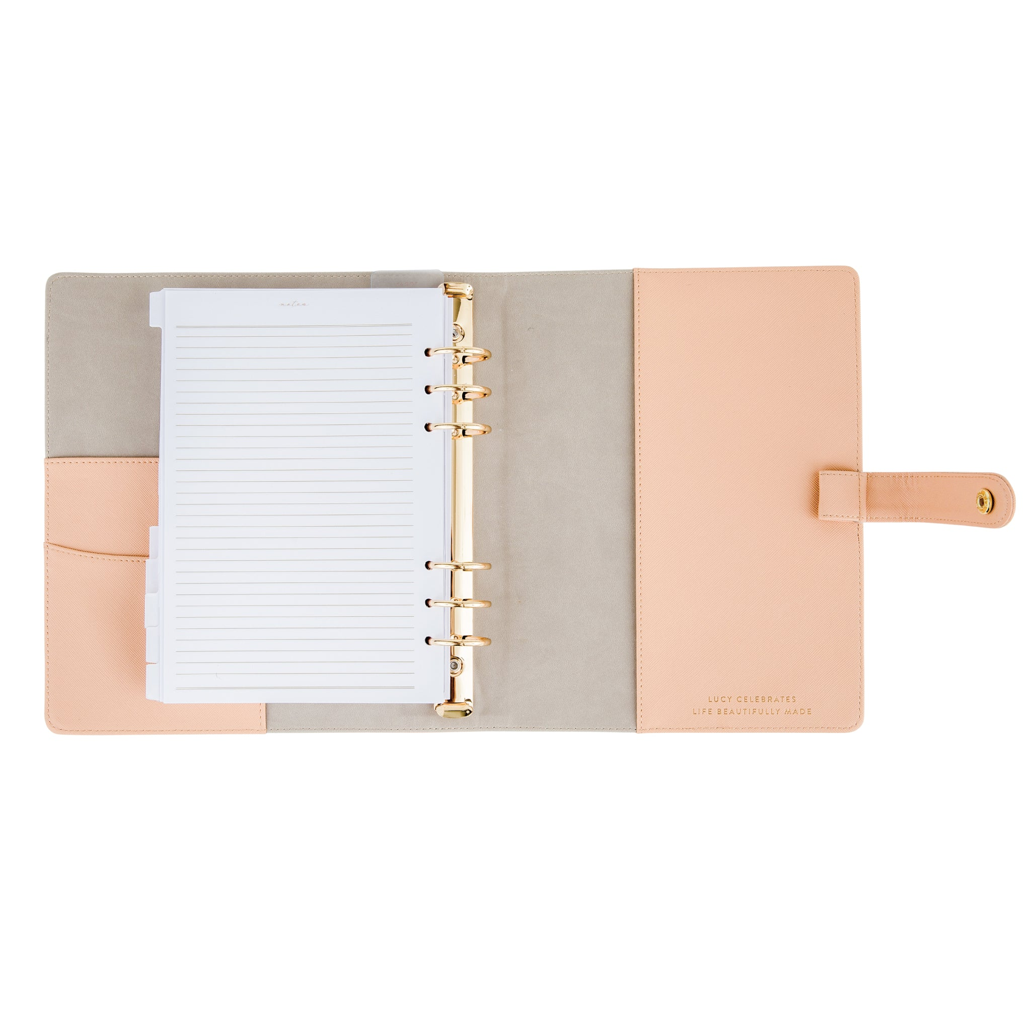 2019 Intentional Planner® Set, Blush Leatherette Binder