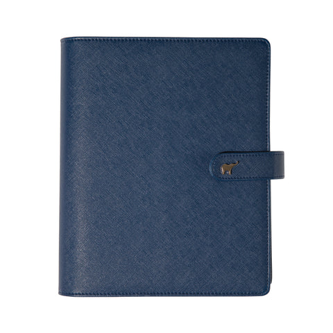 Mid Year Intentional Planner®, Navy Leatherette Binder