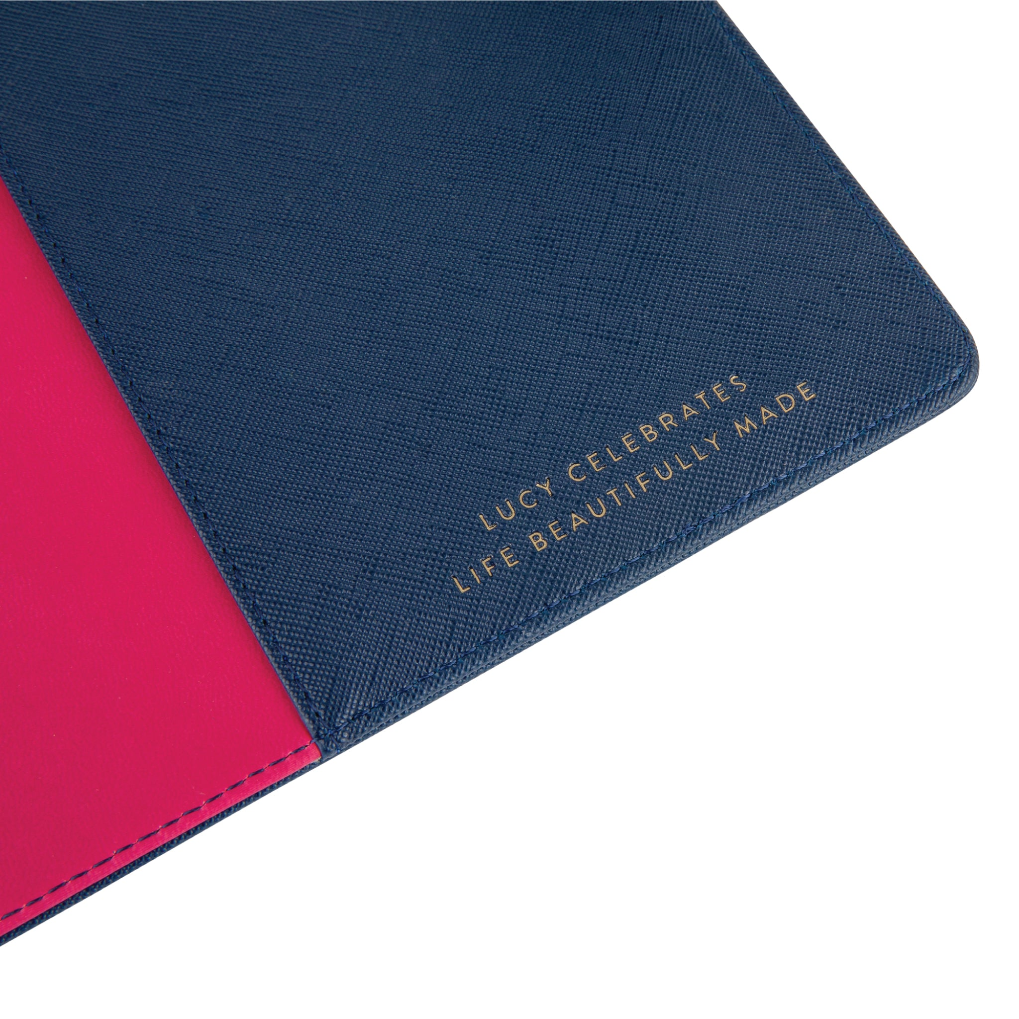 Intentional Planner®, A5 Navy Leatherette Ring Binder