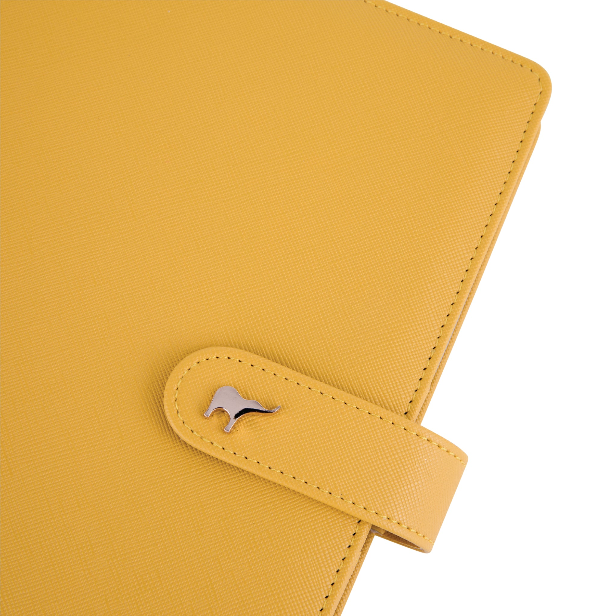 Mid Year Intentional Planner®, Yellow Leatherette Binder