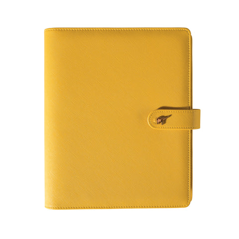2019 Intentional Planner® Set, Yellow Leatherette Binder