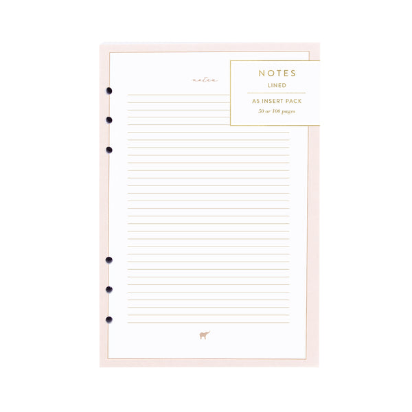 Intentional Planner®, A5 Notes Insert Pack