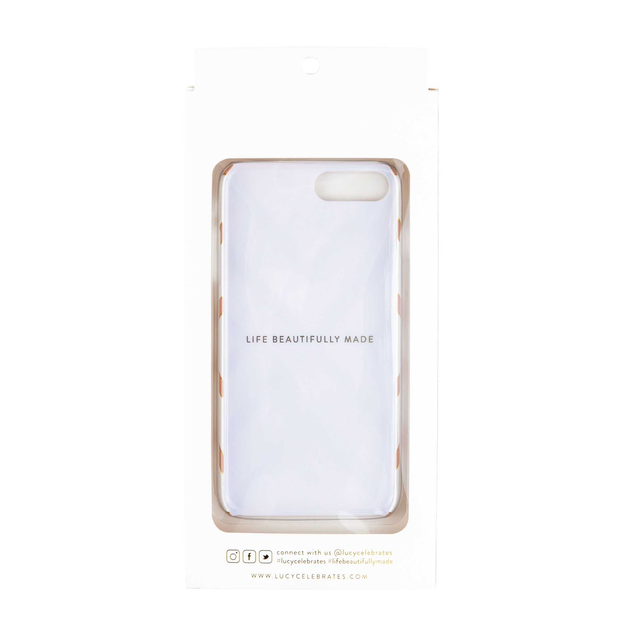 iPhone Case | Blush with Gold Foil