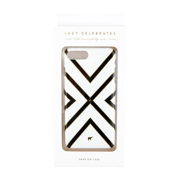 iPhone Case | Black with Gold Foil