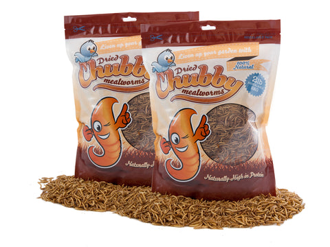 1.82Kg (4Lbs) Chubby Dried Mealworms