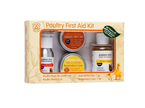 Green Goo - Poultry First Aid Set - Chubby Mealworms