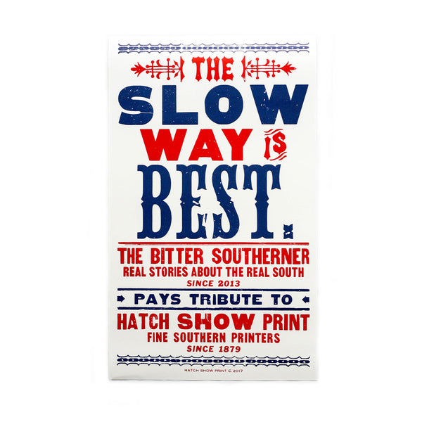 The Bitter Southerner Hatch Show Print