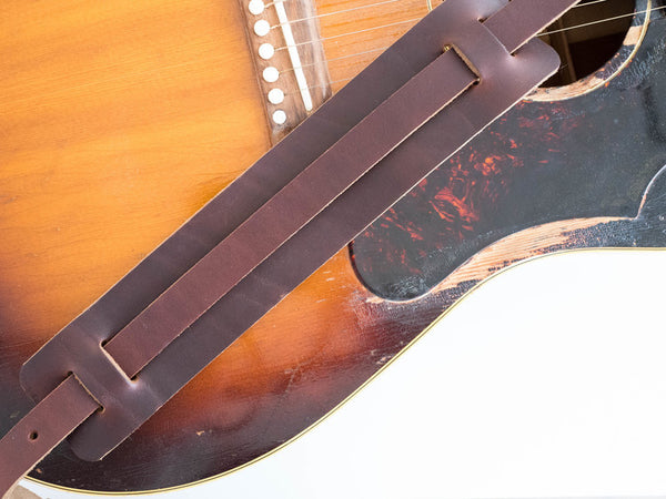 KMM & Co. Leather Guitar Strap