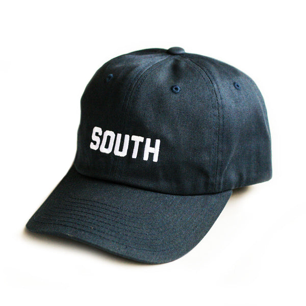 SOUTH Strapback Hat - Blue