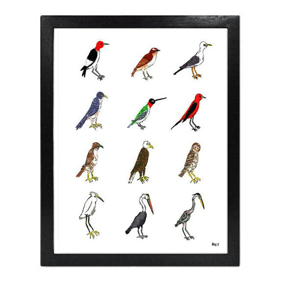 """Birds of the South - Second Edition"" - Collection Giclée"