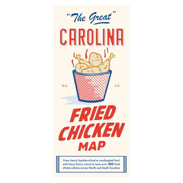 The Great Carolina Fried Chicken Map