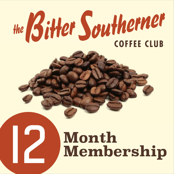 The Bitter Southerner Coffee Club - Twelve Month Plan
