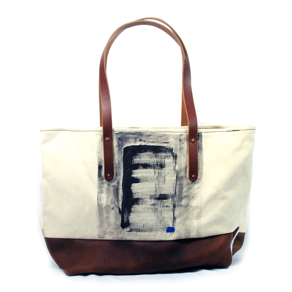 Silo Tote: Hand-painted by Hugh Acheson