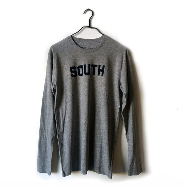SOUTH Long-Sleeve (Heather Grey)