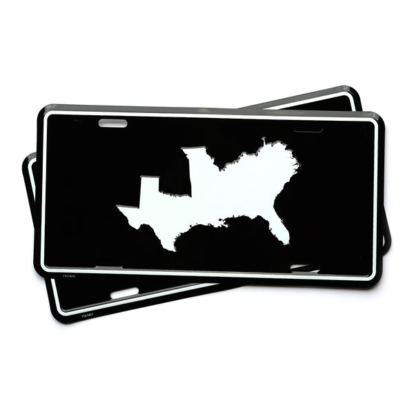 South Without Borders License Plate