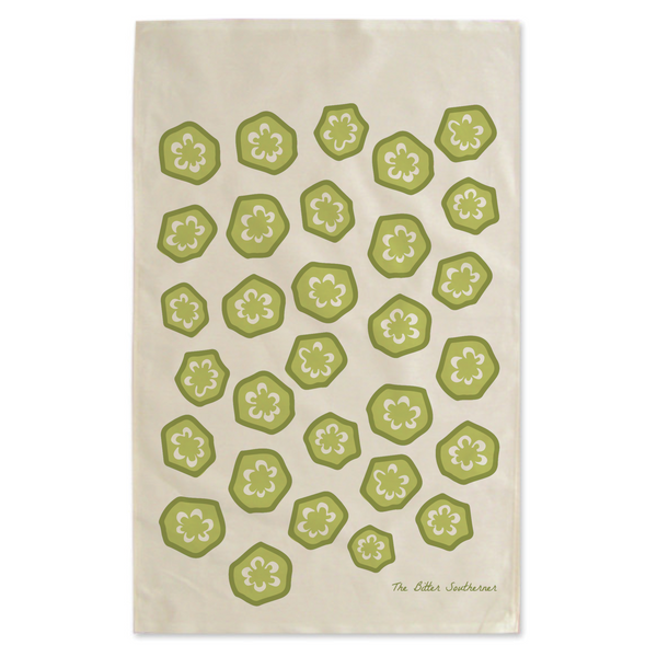 Okra Kitchen Towel