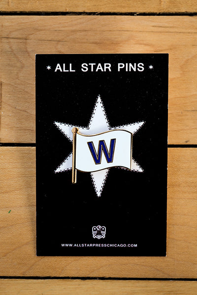The W Flag Pin