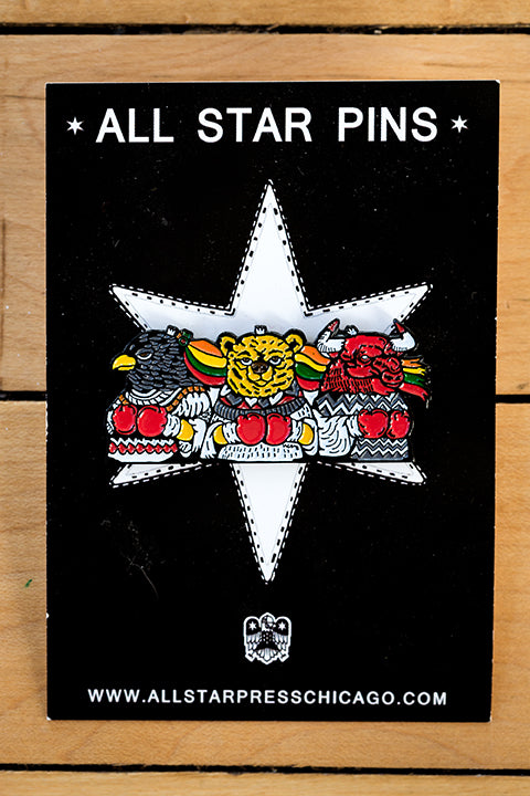 Amongst Kings & Champions Enamel Pin