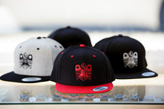 All Star Press Logo Hat in Black/Red
