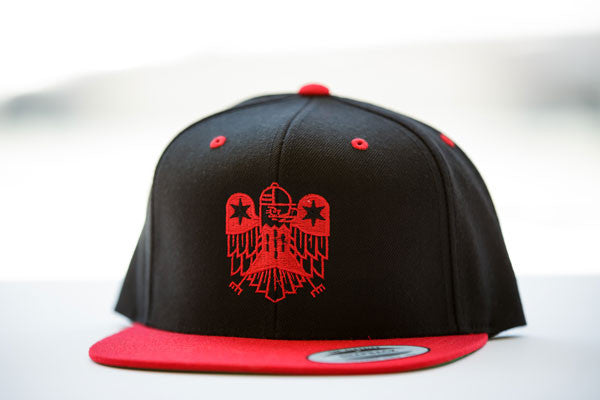 ASP Logo Black/Red Hat