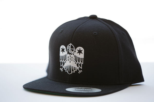 All Star Press Logo Hat in Black/White