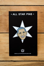 "Load image into Gallery viewer, ""Barack Obama"" Pin by The Found"