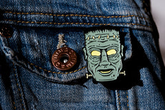 Frankenstein Monster Pin