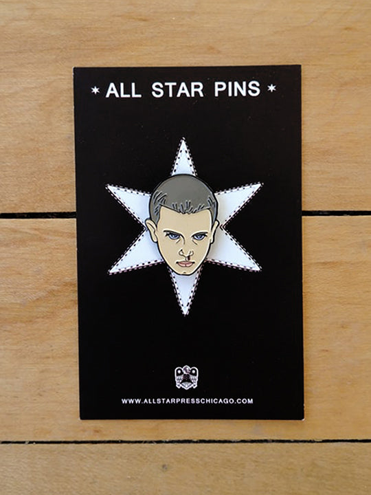 Eleven Stranger Things Pin