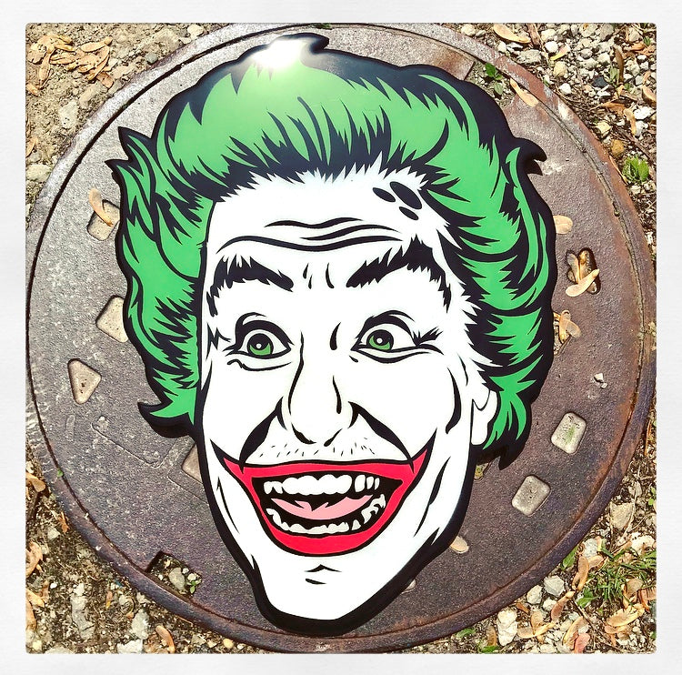 1966 Joker Original Wood Cut by R6D4