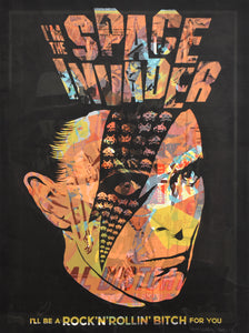 """Space Invader - David Bowie Variant 4"" by Butcher Billy"